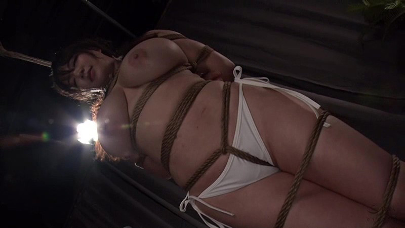 魔乳女戦士 乳房圧搾残虐刑 優月まりな