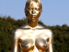 METALLIC BODY PAINTING 001