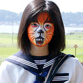 Animal Face Painting Girl