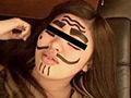 前作パート2で、顔を真っ黒に塗りつぶすのが好評でし