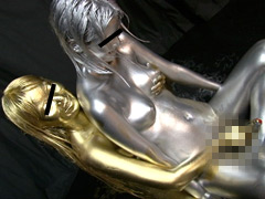 METALLIC BODY PAINTING 003