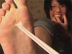 足指名人3 素人娘の足指徹底チェック