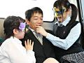 変態女子校生集団逆痴漢 1