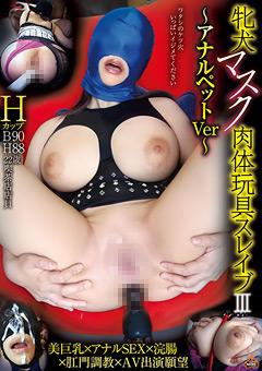 牝犬マスク肉体玩具スレイブ3 ~アナルペットVer~
