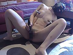 【エロ動画】拘束男の前で連続絶頂オナニー 女子大生マリア - 極上SM動画エロス