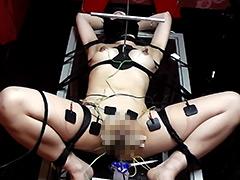 【エロ動画】エリート変態女 ラビアクリップ尿道乳首電気責め - 極上SM動画エロス