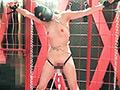 大女-鎖で拘束・人間標的-恐怖と痛みと快楽 めい