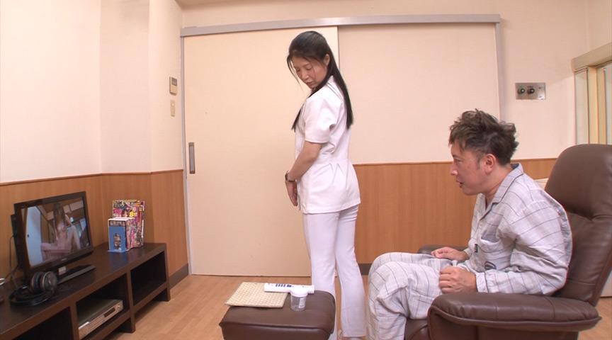 お堅いおばさん看護師を後ろから生で即ヤり VOL.1