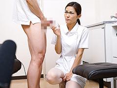 【エロ動画】採精室でイケメン患者と2人きり!3のエロ画像