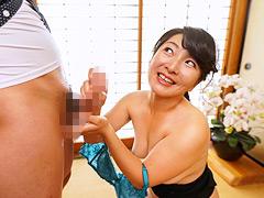 【エロ動画】『おばさん早漏チ○ポ大好きよ』 松沢ゆかり 44歳のエロ画像