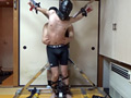 レザーマスクくすぐり拷問刑