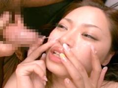 【エロ動画】鼻からゴックン30発 スペルマ・スニッフィング 村西まりなのエロ画像