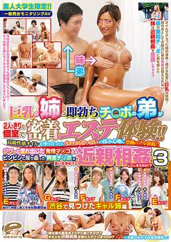 【弟 巨乳】新作一般雄女モニタリングAV-巨乳おっぱいの姉と即勃ちペニスの弟3-ドラマ