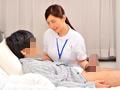 心優しい看護師さんが男性入院患者の溜まったチ○コをお仕事中に連続手コキ!