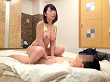 一般男女モニタリングAV 極小ビキニ着用の個人撮影会 【DUGA】