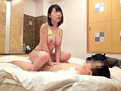 【エロ動画】一般男女モニタリングAV 極小ビキニ着用の個人撮影会