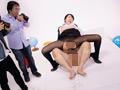 美脚キャビンアテンダント「固定バイブモデル」に挑戦 10