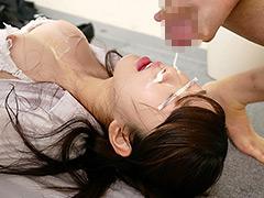 就活女子大生を面接中にノンストップザーメンぶっかけ!