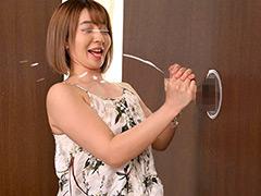 渋谷のギャル女子大生が壁ち○ぽの即ヌキに挑戦!