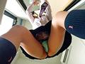 バイトにきた女子校生が超ミニスカすぎてパンチラしまくってるのでこっそり盗撮!