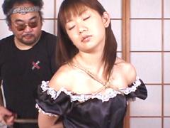 【エロ動画】緊縛コスプレ16 宮地奈々のエロ画像