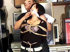 【エロ動画】私服緊縛7のエロ画像