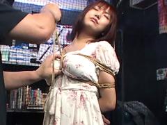 【エロ動画】私服緊縛10のエロ画像