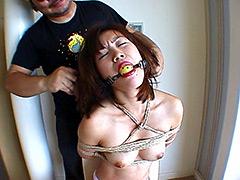 【エロ動画】ザ・猿轡1のSM凌辱エロ画像