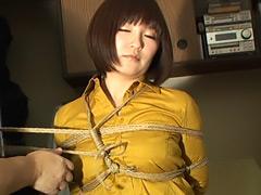 【エロ動画】私服緊縛大全4 - 極上SM動画エロス