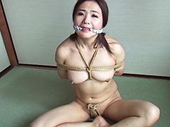 【エロ動画】緊縛フルコース42 加納綾子のエロ画像