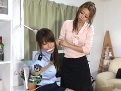 【エロ動画】捕らえた女のSM凌辱エロ画像