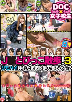 【ゆい動画】新作J●とびっこ散歩!3-リモバイ挿れたまま散歩できるかな-女子校生
