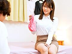 年増女の下着で欲情するの?欲求不満な身体で精液搾取3