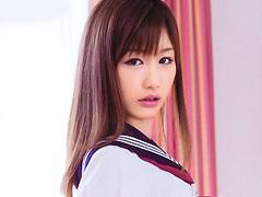 【エロ動画】唾液・キス魔少女 絵色千佳のエロ画像