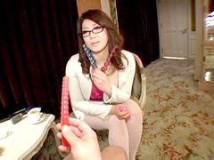 【エロ動画】淫語カウンセラー 細川まり先生のエロ画像