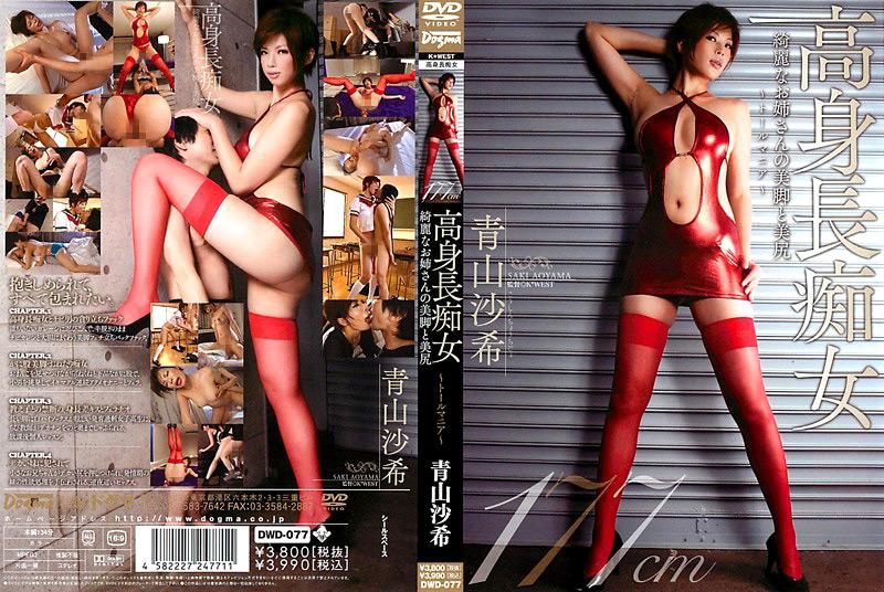 痴女:高身長痴女 綺麗なお姉さんの美脚と美尻 青山沙希