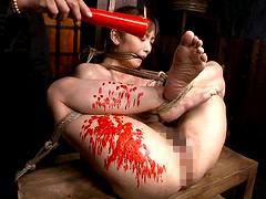 【エロ動画】縄・女囚拷問 第二章 七咲楓花 - 極上SM動画エロス