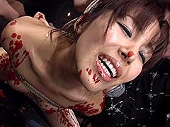 【エロ動画】緊縛・奴隷妻 葵紫穂のSM凌辱エロ画像