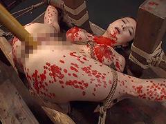【エロ動画】完全拘束・完全支配 拷問ドラッグ 鶴田かなのエロ画像