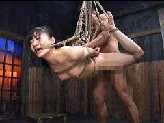 【エロ動画】吊ったまま性交ベストのエロ画像