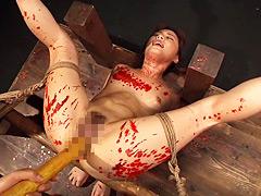 【エロ動画】完全拘束・完全支配 拷問ドラッグ 花咲いあんのエロ画像