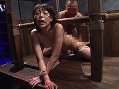 串刺し拷問 七海ゆあ:緊縛