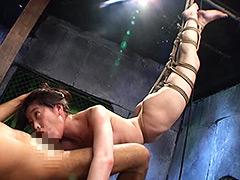 絶対服従 拷問イラマチオ 葉月桃-【イラマチオ】