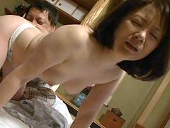 【エロ動画】近親相姦 夜這いされた祖母 波木薫 鈴川桃子のエロ画像