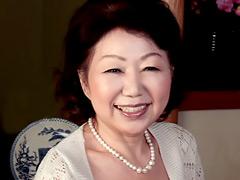 【エロ動画】高齢熟女 藤本敏江のエロ画像
