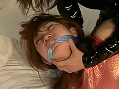 【エロ動画】連続猿轡 ‐突然訪れた乙女の受難‐ 安部夏希のエロ画像