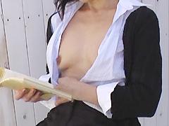人妻胸チラ胸モロ盗撮6