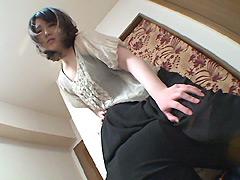 クンニ動画|立ちクンニされながら質問に答える女【十二】