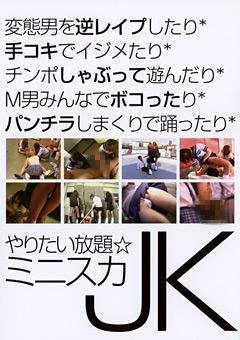 「やりたい放題☆ミニスカJK」のパッケージ画像