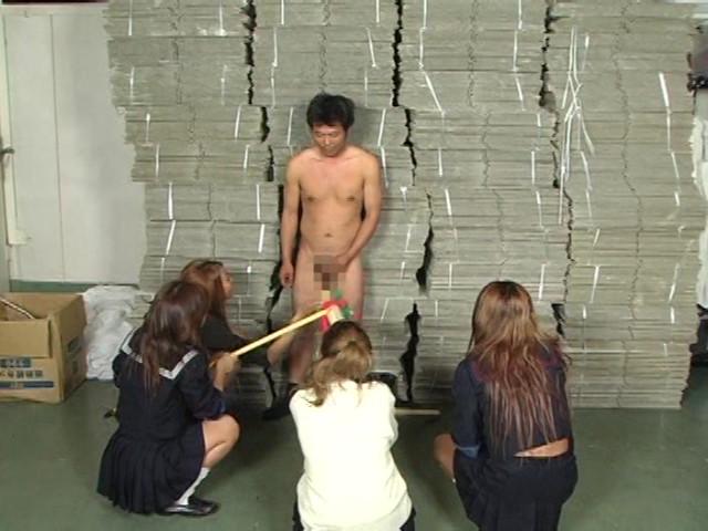 女子校生集団M男ボコり の画像2